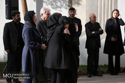 مراسم تشییع پیکر همایون شهنواز