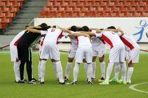 برنامه بازی های دوستانه تیم ملی فوتبال امید اعلام شد
