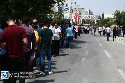 حاشیه قبل از دیدار تیم های ملی والیبال ایران و روسیه