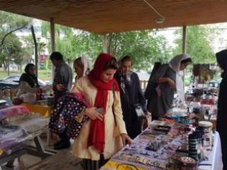 برگزاری بازارچه توانمندسازی زنان در سرای محله سنایی