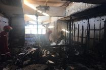 هتل سفیر قشم در آتش سوخت