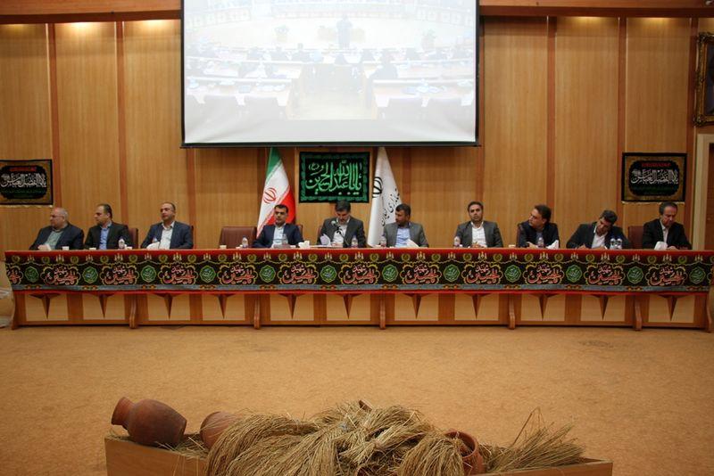 نشست مشورتی بخشداران گیلان با مدیرکل دفتر امور روستایی و شوراهای استانداری گیلان