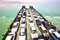 ورود بیش از 79 هزار دستگاه خودرو به جزیره قشم/ورود 63 هزار مسافر از مسیرهای هوایی و دریایی به جزیره قشم