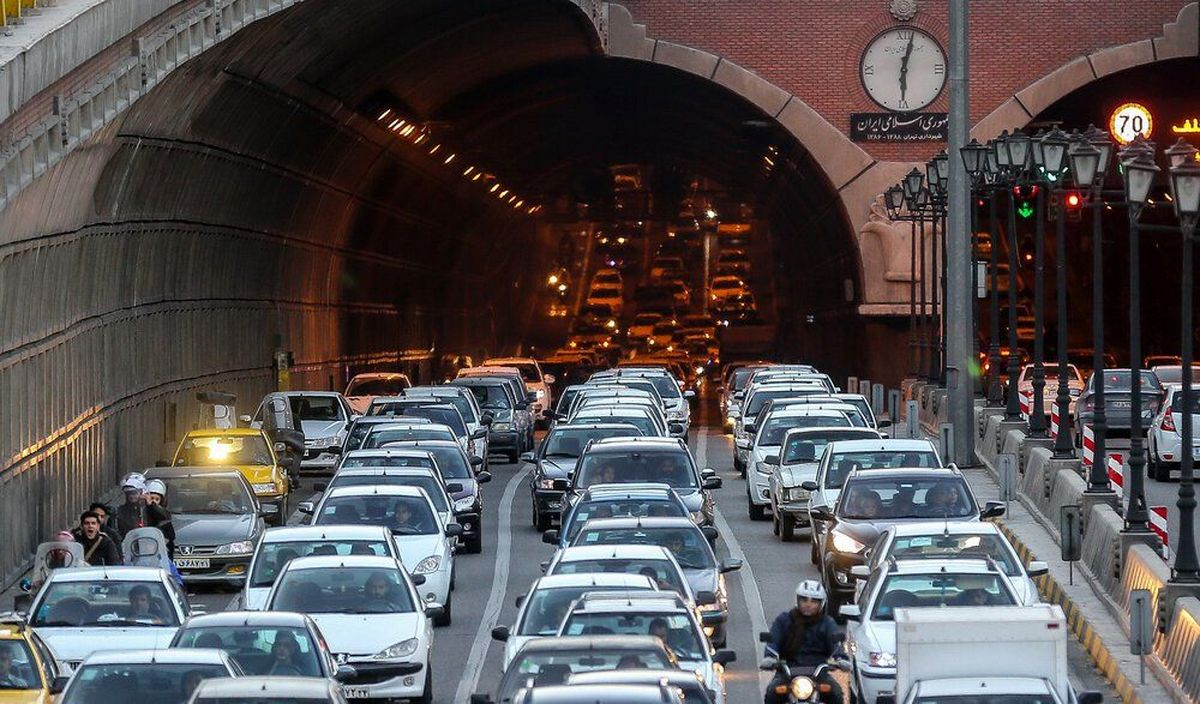 ترافیک در بزرگراههای پایتخت