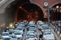 ترافیک سنگین در اکثر بزرگراههای پایتخت
