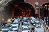 ترافیک سنگین در معابر بزرگراهی درپایتخت