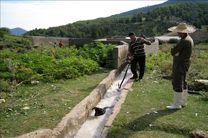 آموزش عملی دامداران استان جهت پیشگیری از بیماری تب کریمه کنگو/سمپاشی دامها و اماکن دامی