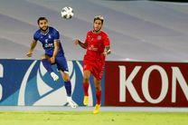 نتیجه بازی استقلال و الدحیل در نیمه نخست