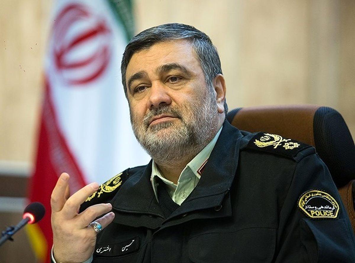 تلاش میکنیم به پلیس مقتدر و هوشمند در تراز انقلاب اسلامی برسیم