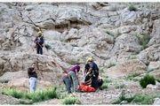 سقوط مرگبار  جوان 35 از کوه صفه در اصفهان