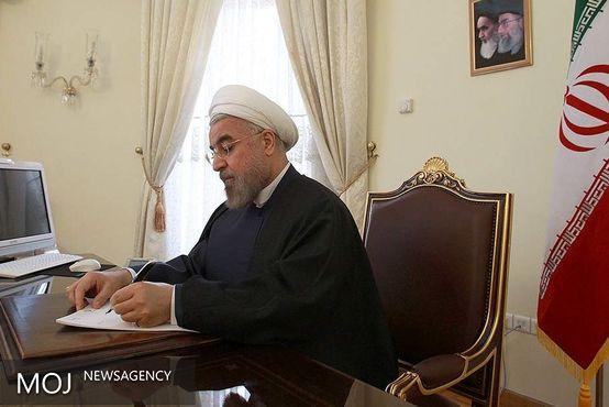روحانی درگذشت مادر شهیدان عباس زاده مقدمی را تسلیت گفت