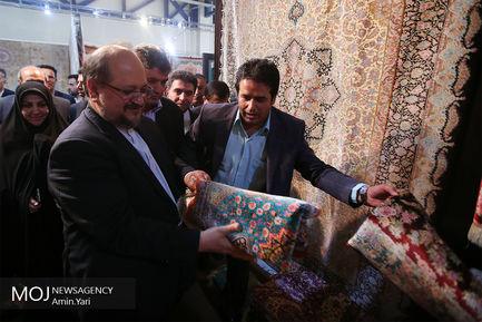 افتتاح نمایشگاه فرش دستباف