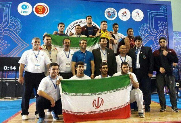 ریزش طلایی ایران در وزنه برداری نوجوانان و جوانان آسیا