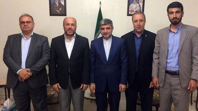 سفیر ایران در لبنان با نماینده جنبش حماس در این کشور دیدار کرد