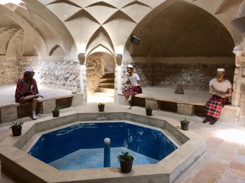 آمادگی حمام گله داری برای بازدید گردشگران نوروزی