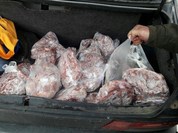 15 تن گوشت غیربهداشتی در کرمانشاه کشف شد