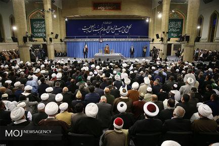 دیدار شرکتکنندگان در اجلاس محبان اهل بیت (ع) با مقام معظم رهبری