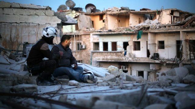 موضع انگلیس در ارتباط با حمله شیمیایی به حلب/ سوریه عامل حمله شیمیایی