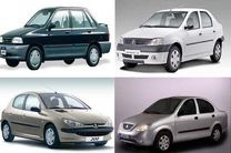 قیمت خودروهای داخلی ۱۷ اسفند ۹۸/ قیمت پراید اعلام شد