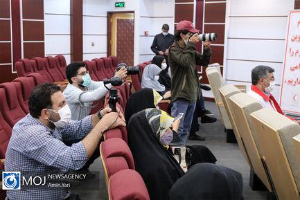 نشست خبری سخنگوی جمعیت هلال احمر - ۱۱ آبان ۱۳۹۹