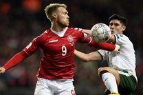 ساعت بازی دانمارک و ایرلند مشخص شد