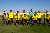 صعود تیم فولاد هرمزگان با پیروزی مقابل بانه کردستان