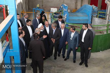 سفر رییس جمهور به استان مازندران