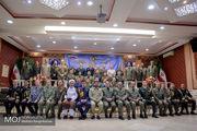 دیدار وابستگان نظامی بیش از ۳۰ کشور با فرمانده نیروی زمینی ارتش