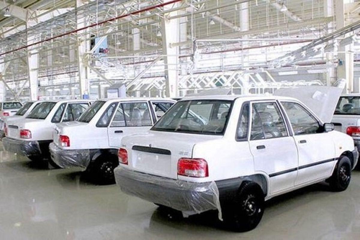 قیمت خودرو امروز ۲۰ مهر ۱۴۰۰/ قیمت پراید اعلام شد