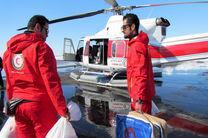 حضور نجاتگران هلال احمر گیلان در 995 عملیات امدادی