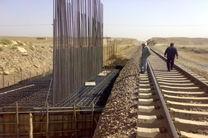 با تکمیل عملیات ریلگذاری قطار آخر خرداد امسال به کرمانشاه می رسد