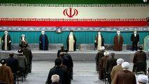مراسم تنفیذ حکم رئیس جمهور منتخب با حضور رهبر معظم انقلاب برگزار شد