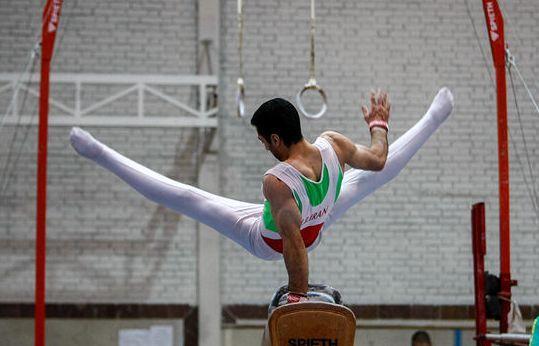 برگزاری مسابقه انتخابی تیم ملی ژیمناستیک جوانان