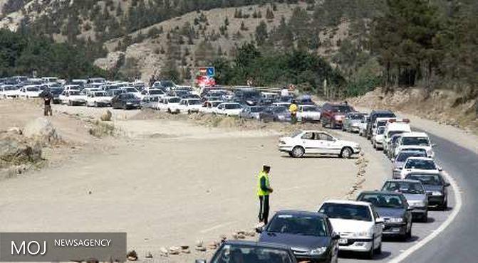 محدودیت های ترافیکی آخر هفته در جاده کندوان