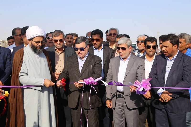 افتتاح چهار پروژه عمرانی در بندرعباس
