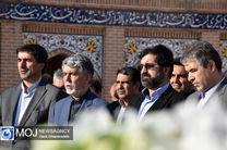 حضور وزیر فرهنگ و ارشاد اسلامی در گلزار شهدای اردبیل