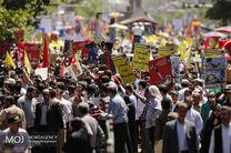 شینهوا: صدها هزار ایرانی روز جمعه با مردم فلسطین اعلام همبستگی کردند