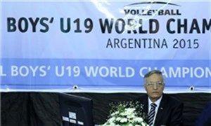 دعوت درخشنده برای نظارت در لیگ جهانی