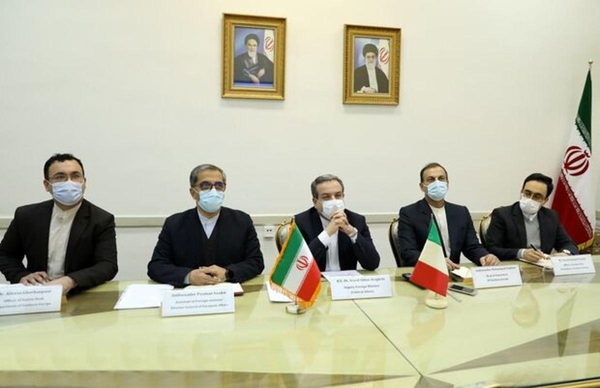 دومین نشست سیاسی معاونان وزرای خارجه ایران و ایتالیا برگزار شد