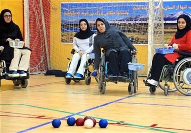 زنجان قهرمانی مسابقات بوچیای جوانان بانوان کشور شد
