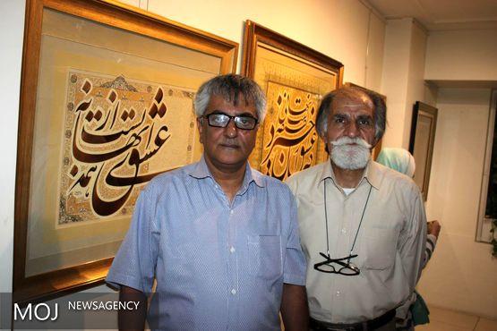 نمایشگاه «مسند مستانگی» با استقبال استادان خط گشایش یافت