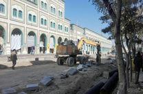 پیشرفت 50درصدی در طرح پیاده راه سازی خیابان ارم قم