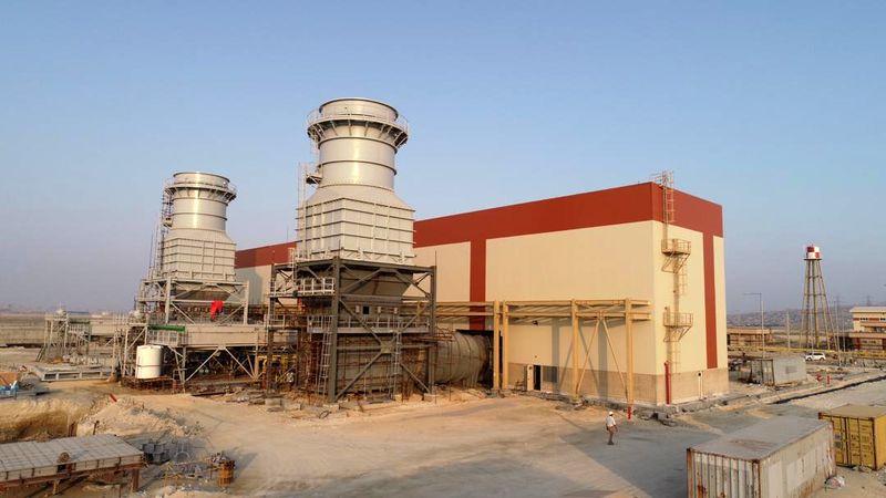 واحد نخست گازی نیروگاه قشم بهره برداری شد/خود کفایی قشم در تولید برق