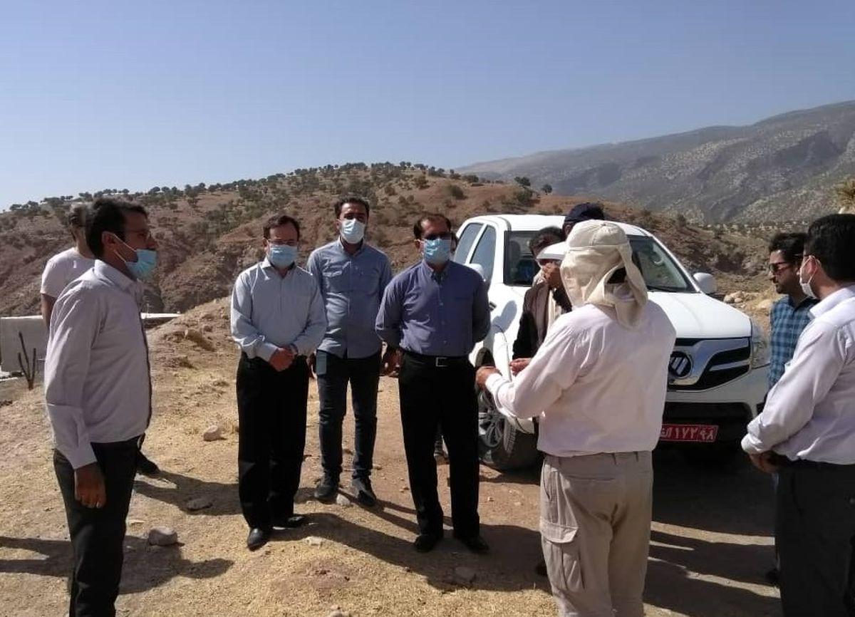گازرسانی به روستای تاریخی سرابکلان با نظارت میراث فرهنگی انجام می شود