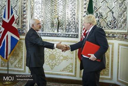 دیدار وزیر امور خارجه انگلیس با ظریف