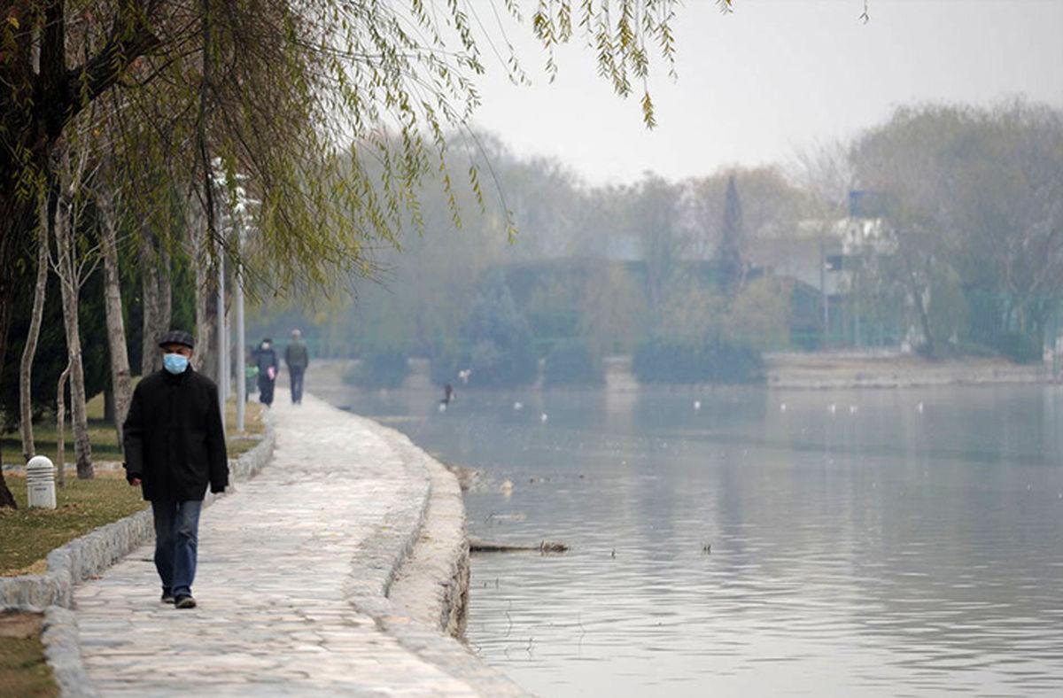 هوای اصفهان برای عموم ناسالم است/ شاخص کیفیت هوا 137