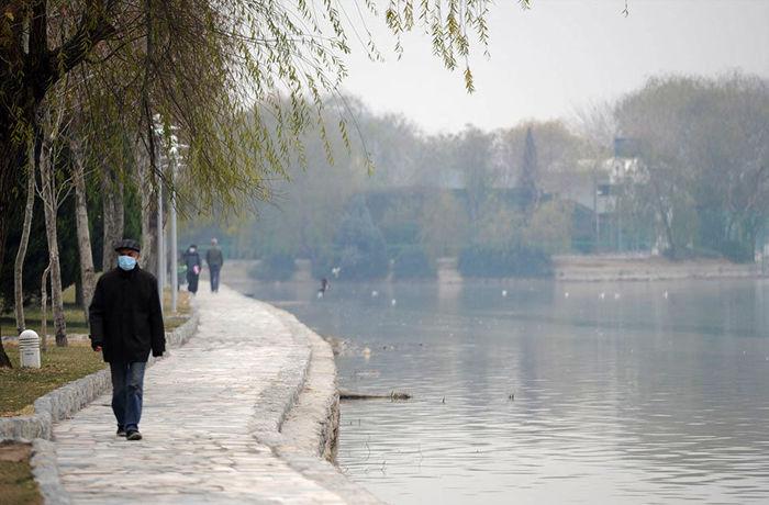 هوای اصفهان برای عموم ناسالم است / شاخص کیفی هوا 158