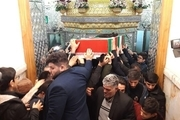 مراسم تشییع پیکر شهدای مقاومت در تهران برگزار شد