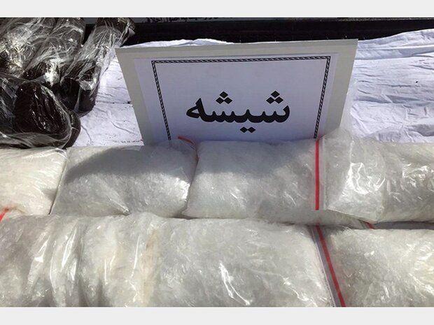 کشف بیش از 86 کیلو مخدر شیشه از یک اتوبوس مسافربری در نایین