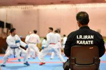 تمرین مشترک تیم های ملی کاراته نوجوانان و جوانان در زنجان